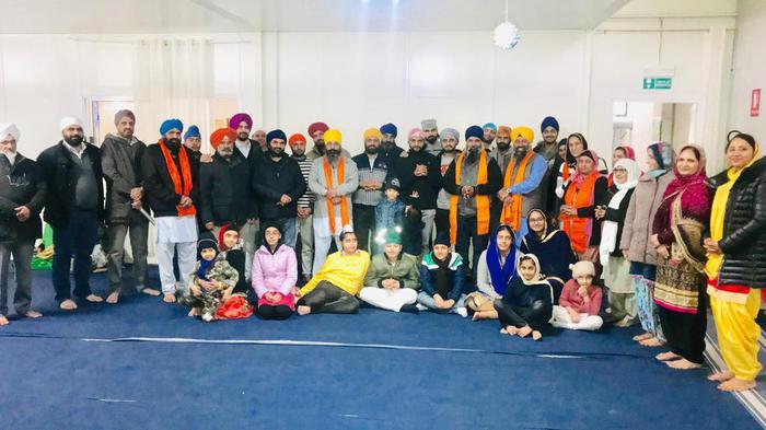 Membri della comunità Sikh